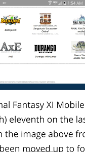 durango wild lands the final fantasy xi mobile version hasn u0027t died u2013 massively