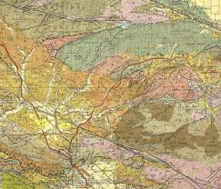 Los Angeles Aqueduct Map by Brief Explanation Of The Geology Of The Santa Clarita Valley