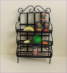 kitchen room amazing small folding bakers rack bakers rack pier