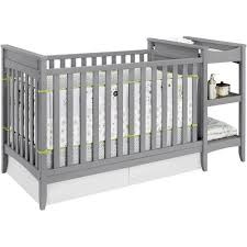 Crib Bed Combo Baby Relax 2 In 1 Crib N Changer Combo Gray Walmart