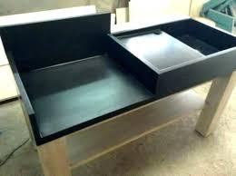comment construire une cuisine exterieure comment faire une cuisine exterieure cuisine exterieure beton vu