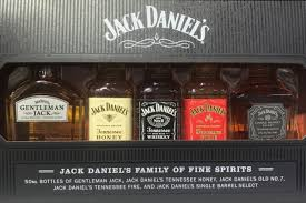 Jack Daniels Gift Set Jack Daniel U0027s Multipack Gift Set Bottle Values