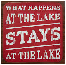 decorative signs u2013 lake house products