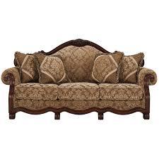 Fabric Living Room Furniture by City Furniture Regal Dark Tone Fabric Living Room