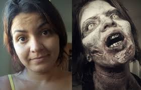 the walking dead zombie make up youtube