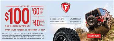 firestone tires black friday sale tires and auto repair coupons promotions rebates the tire shop