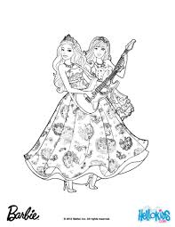 popstars barbie coloring barbie princess u0026