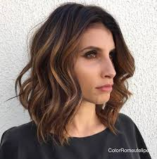 hair style angled toward face 60 super chic hairstyles for long faces to break up the length