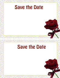 create free custom save the date cards free printable stationary