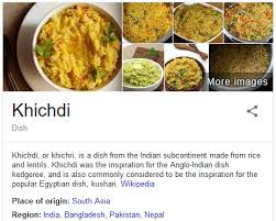 what does the word cuisine what is the meaning of khichadi quora