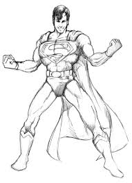 superman sketch by gregjolly on deviantart