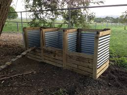 new compost bays of life and horses