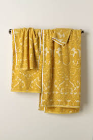 Bright Yellow Bathroom by Yellow Bathroom Towels