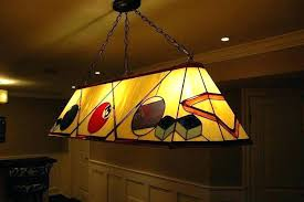 budweiser stained glass pool table light custom pool table light fixture letsclink com