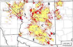 Kingman Arizona Map by Ntia Ptfp Public Broadcasting Coverage
