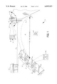 patent us6093923 golf driving range distancing apparatus and