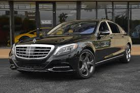 mercedes used s class 2016 used mercedes s class 4dr sedan maybach s 600 rwd at the