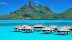four seasons bora bora luxury overwater bungalow with plunge pool
