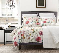 What Is A Bed Coverlet Hummingbird Reversible Duvet Cover U0026 Sham Pottery Barn