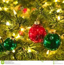 shiny balls on tree stock photo image 12328700