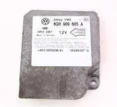 Demontage Volkswagen Up by Airbag Computer Control Ecm Module 99 01 Vw Golf Mk4 6q0 909 605