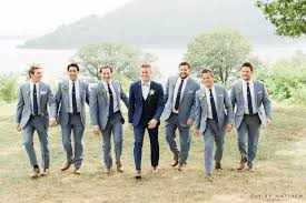 Wedding Venues In Westchester Ny Photoshoot With Groom And Groomsmen Out On The Grand Lawn