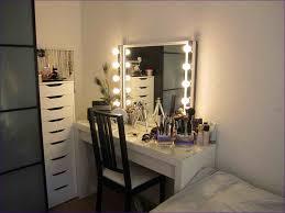 Ikea Vanities Bedroom Bedroom Vanity Mirror With Lights Cheap Black Makeup Vanity