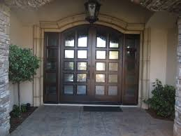 external double front doors contemporary with sidelights all glass