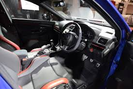 subaru station wagon interior new subaru levorg s concept edges closer to sti model