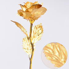 gold flowers us 24k dipped gold flower birthday s day