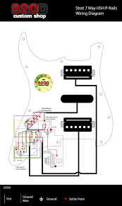 diagrams strat 7 way hsh p rail u2013 sigler music