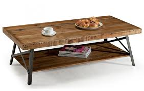 Contemporary Rustic Wood Furniture Modern Rustic Coffee Table
