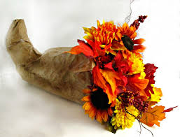 thanksgiving cornacopia fall cornucopia with silk flowers frugal upstate