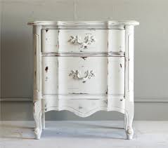 distressed white side table samantha end table the reserve vintage rentals
