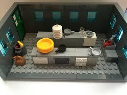 lego kitchen lego ideas jurassic park raptor kitchen attack