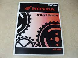 new genuine oem 1985 1986 honda atc250r atc 250r 250 r service