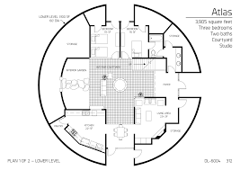 floor plan dl 6004 monolithic dome institute