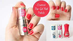 essence the gel nail polish review tutorial youtube