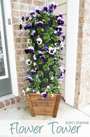 Fake Plants Home Depot Best 25 Flower Tower Ideas On Pinterest Pot Decoration Ideas