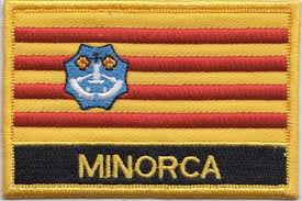 Military Flag Patch Spain Balearic Islands Minorca Menorca Flag Embroidered