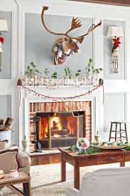 christmas season best christmas fireplace decorations ideas on