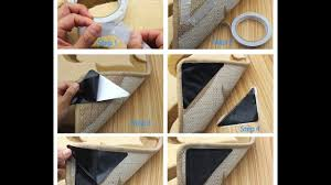 Rug Gripper Pad For Carpet Rug Gripper Carpet Rubber Anti Skid Pad With Rug Review Youtube