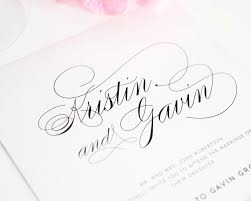 top 10 wedding invitations with script u2013 wedding invitations