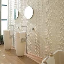 bathroom tile wall porcelain stoneware wave pattern ston