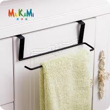 kitchen cabinet towel rack tissue holder hanging bathroom toilet roll paper holder towel rack