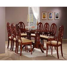 Stunning Country Style Dining Table And Chairs  About Remodel - Mahogany dining room set