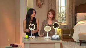 sanheshun 7x magnifying lighted travel makeup mirror odd travel lighted makeup mirror double sided 1x 5x magnifying with