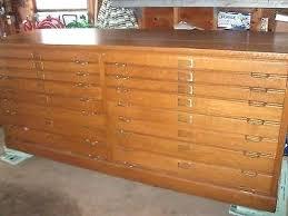 blueprint flat file cabinet flat file 5 drawer architect blueprint filing cabinet various styles