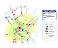 Marta Atlanta Map Atlanta Braves Planning To Leave 16 Year Old Turner Field In 2016