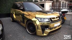 range rover pink wallpaper gold range rover hamann mystere in london youtube